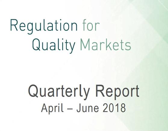 Quarterly Report April - June 2018